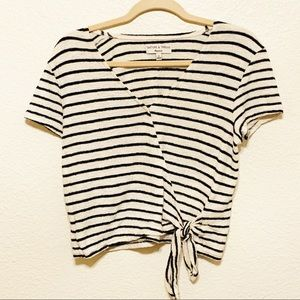 Madewell Texture and thread blouse size M